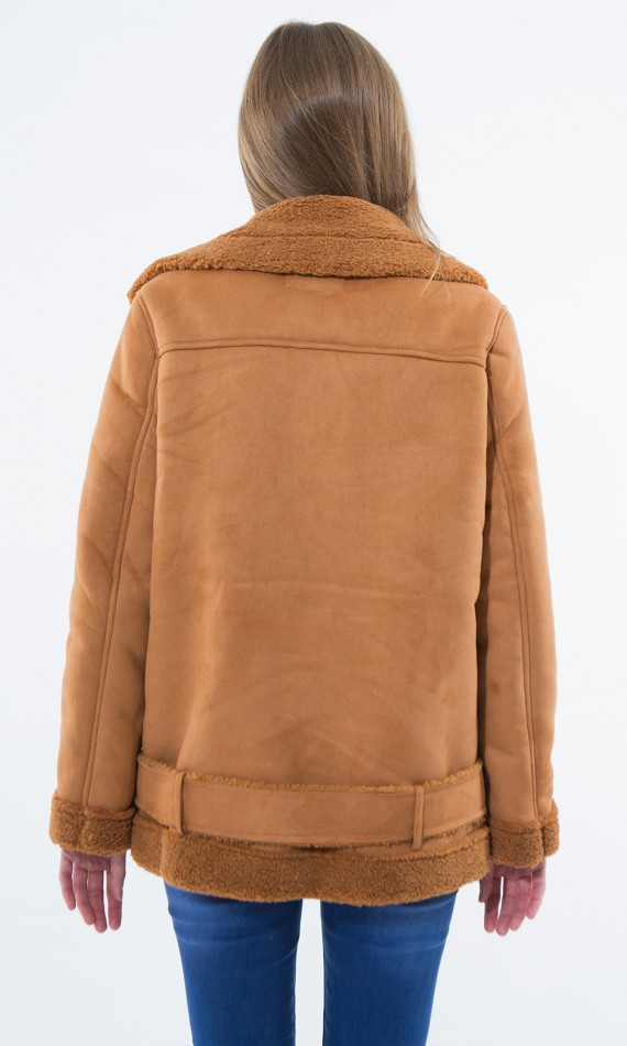Jacket camel style airman