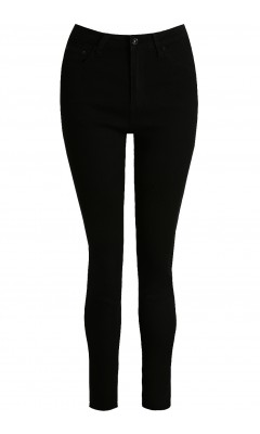 Jean push up skinny noir stretch