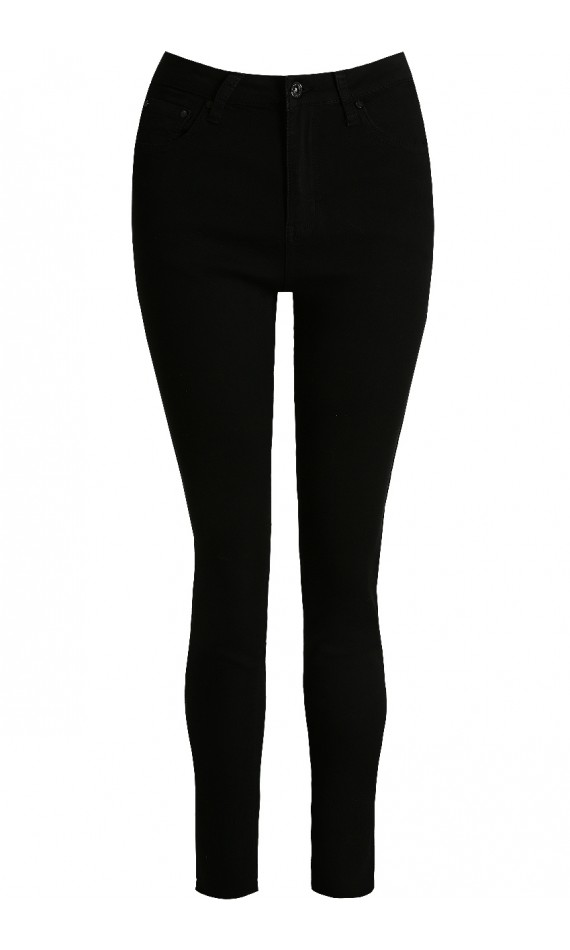 Jeans black push up skinny