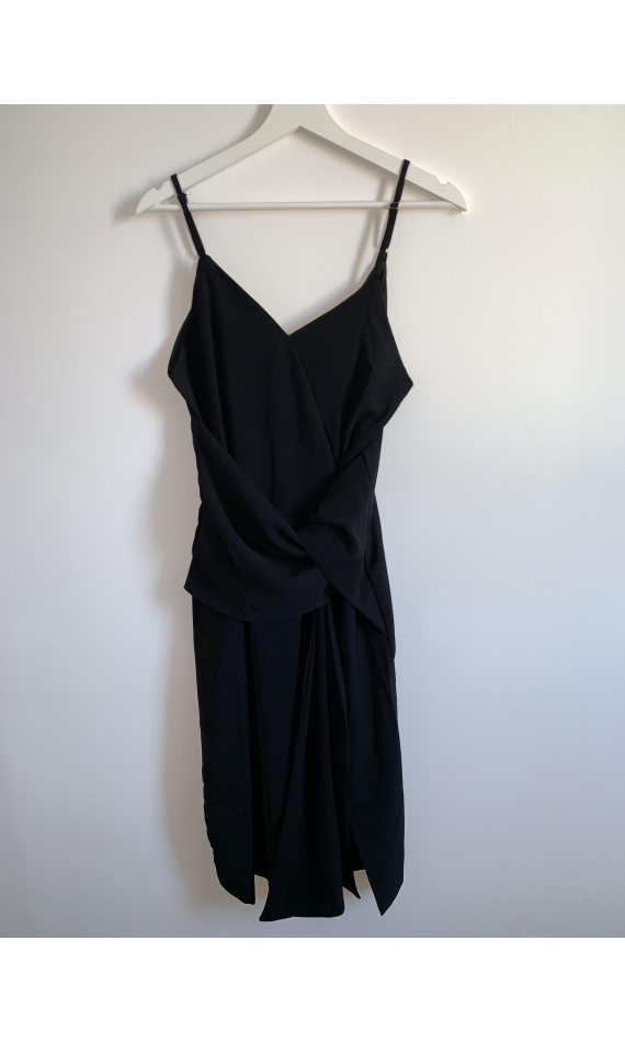 Black dress to tie