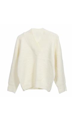 Sweater v neck knit