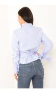 Chemise bleu à rayure