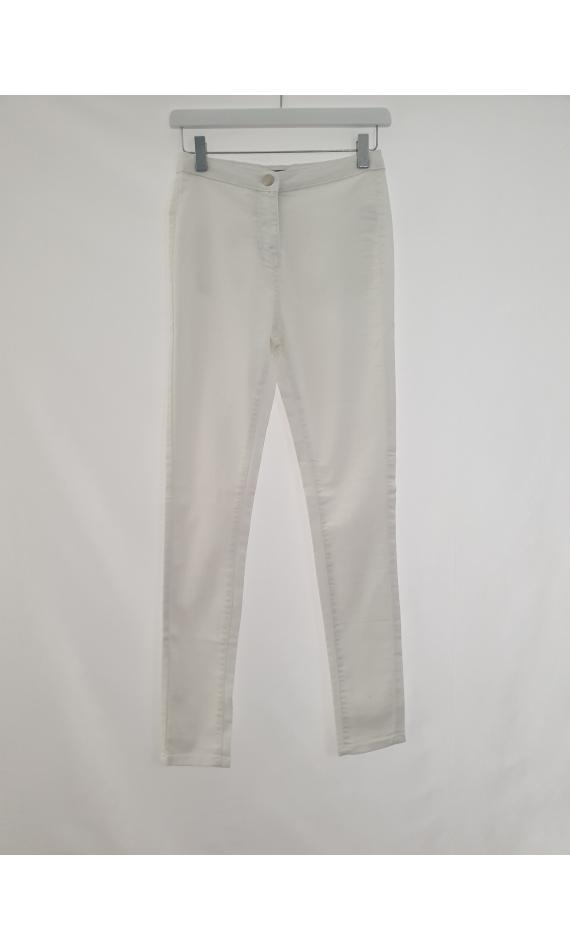 Jean slim white